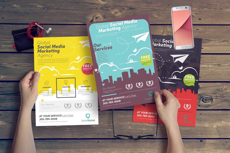 Social Media Flyer | Rush Flyer Printing